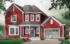 Plan de maison no. W3834 de dessinsdrummond.com
