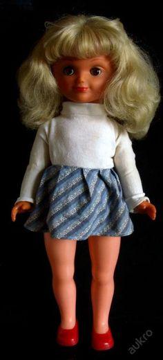 Panenka Gumotex Old Dolls, Marceline, Retro Vintage, Style, Fashion, Puppets, Swag, Moda, Antique Dolls