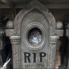 Gravestone Merchandising for Halloween – Fixtures Close Up Lion Sculpture, Retail, Statue, Halloween, Art, Art Background, Kunst, Performing Arts, Sleeve