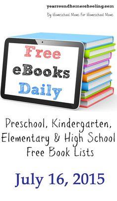 Free eBooks Daily: July 16, 2015 - http://www.yearroundhomeschooling.com/free-ebooks-daily-july-16-2015/