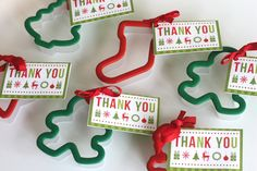Perfect party favors for a cookie exchange party! #christmas #favor