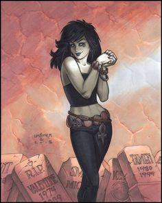 Death - Joseph Michael Linsner Comic Art