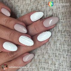 Sweater Nails 16 | xoNECOLE