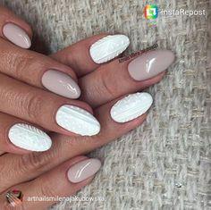 Sweater Nails 16 | xoNECOLE