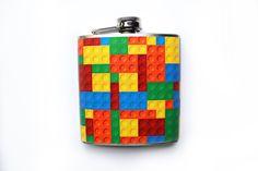Lego Printed Flask