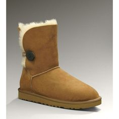 Our UGG 5803 Bailey Button are one of imports of sheep wool fabric in Australia. Coat evenly, length of the line, warm air, upper smooth, soft to the touch.Low Price UGG 5803 Chestnut Bailey Button Boots Sale US are a calf-height boot made from genuine Twin-face sheepskin.Wooden button and elastic band closure for easier on or off. sheepskin lining keeps feet and ankles warm and cozy. Soft foam insole covered in sheepskin for the ultimate in comfort.