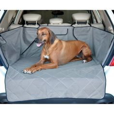 The K&H Quilted Cargo Cover protects your SUV from dirt, mud, grime and moisture with this universal-fit cargo cover. It's quilted to keep pet's comfortable