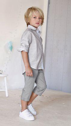 Conjunto camisa + pantalón pesquero