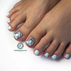 Маникюр   Ногти Wow Nails, Pretty Toe Nails, Cute Toe Nails, Sexy Nails, Cute Acrylic Nails, Toenail Art Designs, Pedicure Nail Designs, Pedicure Nails, Toe Nail Color