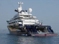 Octopus Mega Yacht | moteur actualites octopus L'Octopus de Paul Allen, un méga yacht ...
