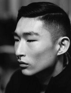 Kim Sang Woo at Matthew Miller Fall 2014 London
