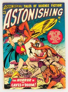 Astonishing #5 (Atlas, 1951) - Bill Everett