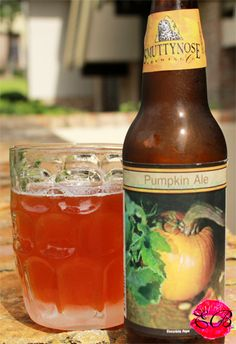 the Edible Bachelor ~ Thirsty Thursdays ~ Smuttynose Pumpkin Ale