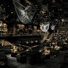 Las Vegas: The Bank nightclub at the Bellagio