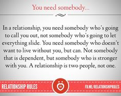 So true!!! Someone to push you forward not hold you back!