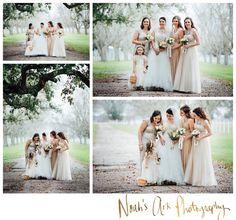 Houston Wedding Photographer, Richmond, Texas, George Ranch Historical Park, Winter Wedding, Bridesmaids