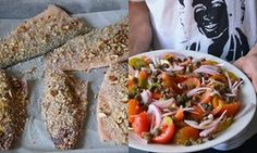 Rachel Roddy's fish with an almond and breadcrumb crust recipe | A kitchen in Rome | Life and style | The Guardian