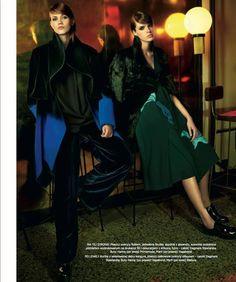 Dagmara Stawiarska | 2015 | Harper's Bazaar Polska #fashion #fashiondesign #katedramody #flock #silicon #twinpeaks #Lynch #fashiondepartment #warsaw