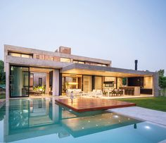I love this international home I think it is beautifully lit. Modern Home Design, Dream Home Design, House Design, Modern Mansion, Big Modern Houses, Luxury Homes Dream Houses, Modern Architecture House, Dream House Exterior, Future House