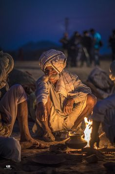 Stories after dark, Pushkar fair, India