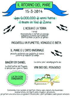 IL RITORNO DEL MARE 15-3-14 VAL DI ZENA, AGRITURISMO BIO IL POGGIOLO