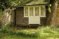 Virginia Woolf's writing-shed