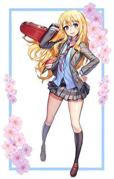 e-shuushuu kawaii and moe anime image board Moe Anime, Manga Anime, Anime Art, Digimon, Miyazono Kaori, Naruto, Your Lie In April, Dragon, Beautiful Anime Girl