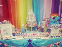 Baby Shower: My Little Pony Baby Shower To Inspire And To Make The Lovely Baby…