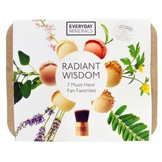 Everyday Minerals, Radiant Wisdom Kit, 7 Pieces ( #Coupon code for 5$ #discount: GZK450)