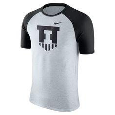 Men's Nike Illinois Fighting Illini Raglan Tee, Size: Medium, White