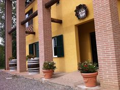 Entrance at Tenuta #Valdipiatta winery, private wine tours and tastings. ( Vino #Nobile di #Montepulciano + www.valdipiatta.it)