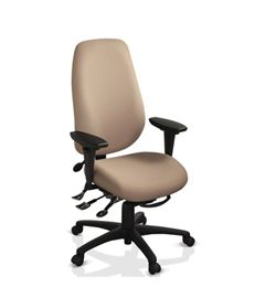 ergoCentric geoCentric Series Extra Tall Back Knee Tilt Chair