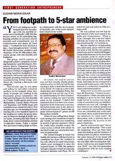 Panoramic Group Founder Sudhir Moravekar's success story
