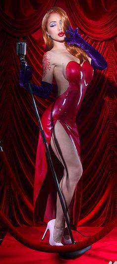 The real Jessica Rabbit #cosplay #sdcc #comiccon NERD Girls | Comic Con Hotties | Cosplay Hotties