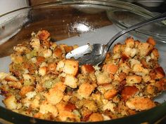 Traditional Crock-Pot Stuffing Recipe..What a great idea. Going to try it this Thanksgiving.