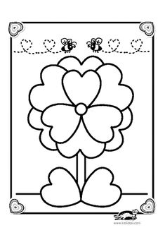 printables for kids Printable Coloring Pages, Coloring Pages For Kids, Mothers Day Crafts For Kids, Kids Crafts, Valentine Box, Opening Day, 3rd Birthday, Halloween Crafts, Activities For Kids