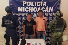 """Un operativo coordinado de la Policía Michoacán y la Sedena derivó en la captura de Omar M., alias """"El Duende"""", señalado como presunto líder de una célula vinculada al grupo ..."""