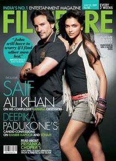 FIlmfare #Bollywood Deepika Padukone & Saif Ali Khan