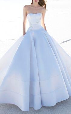 Alex Perry Bride Carla Strapless Corset Gown