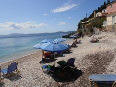 Pláž Kaminaki - ostrov Korfu