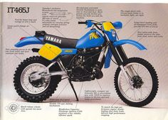 1982- Yamaha IT465