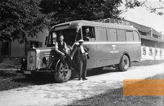 Grafeneck, 1940, GEKRAT omnibus, Landesarchiv NRW – Abteilung Rheinland – RWB 18248/010