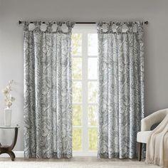 Selectionnez des rideaux motif Paisley dans les tons clairs pour apporter une touche d'élégance et de simplicité à votre pièce ! #astucedeco #rideaux #decorideaux #paisley #voilages