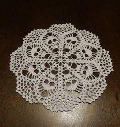 Skull Doily - Crochet Doily - Crochet Lace - Skull Lace Doily - Needle work- Crochet - Skull Lace by CreativeWorkByAnnie on Etsy