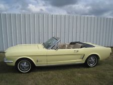 Ford : Mustang Convertible 1966 ford mustang convertible 200 i 6 with power top