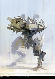 Mechwarrior by Maciej Kuciara | 2D | CGSociety