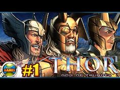 Thor God of Thunder DS parte1 Asgard