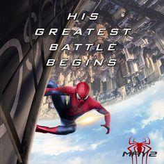 When enemies unite...his greatest battle begins. #SpiderMan