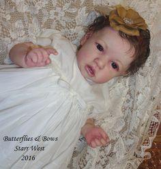 Saskia Sculpt by Bonnie Brown Reborn Artist: Starr West