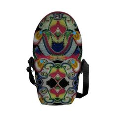 Shop Native American Beaded Bag created by Personalize it with photos & text or purchase as is! Native American Beadwork, Native American Indians, Native Beadwork, Pack Your Bags, Beaded Bags, Bead Crochet, Crochet Clutch, Beautiful Bags, Vera Bradley Backpack